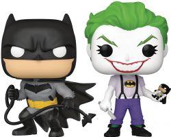 BATMAN -  FIGURINE POP! EN VINYLE DE BATMAN ET DU JOKER - ENSEMBLE DE DEUX (10 CM) -  WHITE KNIGHT