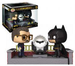 BATMAN -  FIGURINE POP! EN VINYLE DE BATMAN ET LE COMMISSAIRE GORDON (10 CM) -  ANNIVERSAIRE DE 80 ANS 291