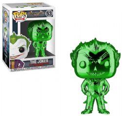 BATMAN -  FIGURINE POP! EN VINYLE DU JOKER (GREEN CHROME) (10 CM) -  ARKHAM ASYLUM 53