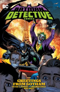 BATMAN -  GREETINGS FROM GOTHAM HC -  DETECTIVE COMICS 03