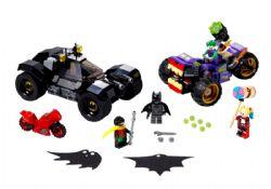 BATMAN -  LA POURSUITE DU JOKER EN MOTO À 3 ROUES (440 PIÈCES) -  DC SUPER HEROES 76159