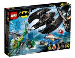 BATMAN -  LE BATWING DE BATMAN ET LE CAMBRIOLAGE DU SPHINX (489 PIÈCES) -  DC SUPER HEROES 76120
