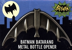 BATMAN -  OUVRE-BOUTEILLE EN MÉTAL BATARANG BATMAN 1966