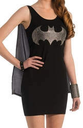 BATMAN -  ROBE DE BATGIRL (ADULTE)