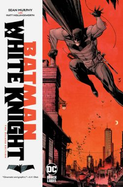 BATMAN -  WHITE KNIGHT HC (DELUXE EDITION) -  DC BLACK LABEL