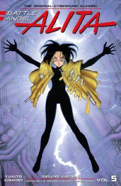 BATTLE ANGEL ALITA -  DELUXE EDITION HC (V.A.) 05