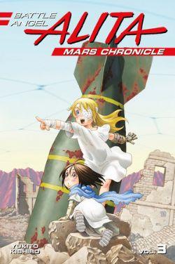 BATTLE ANGEL ALITA -  MARS CHRONICLE GN 03