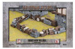 BATTLEFIELD IN A BOX -  BARRICADES -  WARTORN VILLAGE