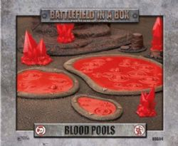 BATTLEFIELD IN A BOX -  BLOOD POOLS