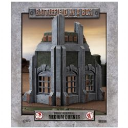 BATTLEFIELD IN A BOX -  MEDIUM CORNER -  GOTHIC INDUSTRIAL