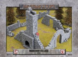 BATTLEFIELD IN A BOX -  RUINS -  WARTORN VILLAGE