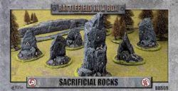 BATTLEFIELD IN A BOX -  SACRIFICIAL ROCKS
