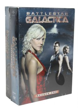 BATTLESTAR GALACTICA -  DVD USAGÉS - BUNDLE SEASON 1 AND 2 (ANGLAIS/ESPAGNOL)