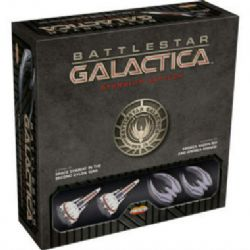 BATTLESTAR GALACTICA : STARSHIP BATTLES -  STARTER SET (ANGLAIS)