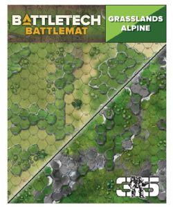 BATTLETECH -  BATTLEMAT - ALPINE/GRASSLANDS C (56.9 CM X 91.4 CM)