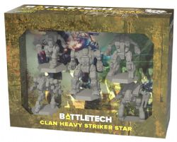 BATTLETECH -  CLAN HEAVY STRIKER STAR (ANGLAIS)