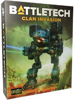 BATTLETECH -  JEU DE BASE (ANGLAIS) -  CLAN INVASION