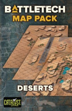 BATTLETECH -  MAP PACK: DESERTS (ANGLAIS)