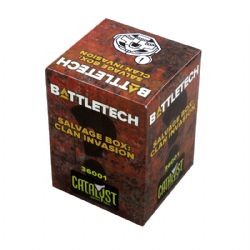 BATTLETECH -  SALVAGE BOX : CLAN INVASION MYSTERY PACK (ANGLAIS)