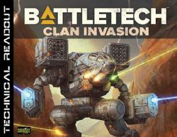 BATTLETECH -  TECHNICAL READOUT (ANGLAIS) -  CLAN INVASION