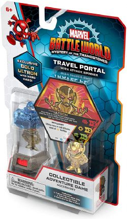 BATTLEWORLD : MYSTERY OF THE THANOSTONES -  TRAVEL PORTAL WITH ATTACK SPINNER (ANGLAIS)