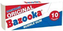 BAZOOKA -  GOMME BALLOUNE - ORIGINAL & FRAMBOISE BLEUE
