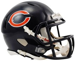 BEARS DE CHICAGO -  CASQUE BLEU -  MINI RÉPLIQUE