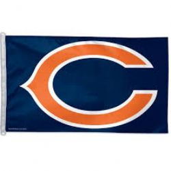 BEARS DE CHICAGO -  DRAPEAU HORIZONTAL 36