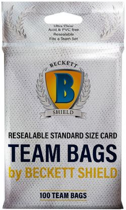BECKETT SHIELD -  PAQUET DE 100 TEAM BAGS