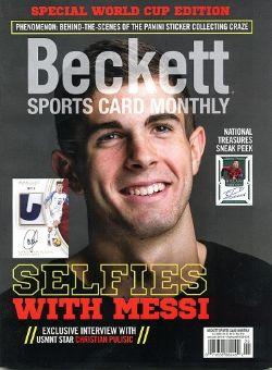 BECKETT SPORTS CARD MONTHLY -  MAI 2018 398