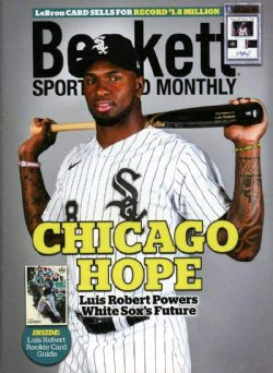 BECKETT SPORTS CARD MONTHLY -  SEPTEMBRE 2020 ***COUVERTURE LUIS ROBERT*** 426