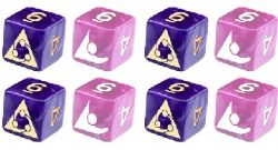 BESM ROLE PLAYING GAME -  CUSTOM DICE SET