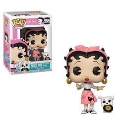 BETTY BOOP -  FIGURINE POP! EN VINYLE DE BETTY BOOP & PUDGY (10 CM) 555