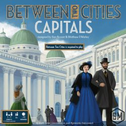 BETWEEN TWO CITIES -  CAPITALS (ANGLAIS)