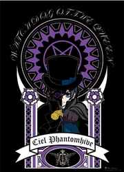 BLACK BUTLER -  -CIEL PHANTOMHIVE- (111.7 CM X 83.8 CM)