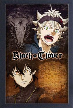 BLACK CLOVER -  IMAGE ENCADRÉE