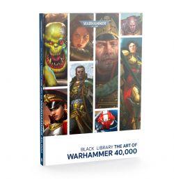 BLACK LIBRARY THE ART OF WARHAMEMR 40000 (ANGLAIS)