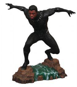 BLACK PANTHER -  STATUE DE BLACK PANTHER SANS MASQUE EN PVC (22CM) -  MARVEL GALLERY