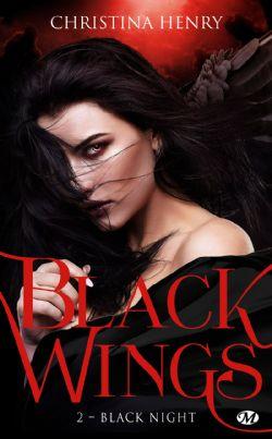 BLACK WINGS -  BLACK NIGHT (FORMAT DE POCHE) 02