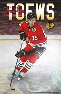 BLACKHAWKS DE CHICAGO -  AFFICHE