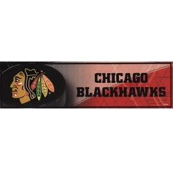 BLACKHAWKS DE CHICAGO -  AUTOCOLLANT DE PARE-CHOC