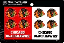 BLACKHAWKS DE CHICAGO -  AUTOCOLLANTS