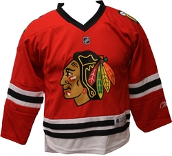 BLACKHAWKS DE CHICAGO -  CHANDAIL ROUGE IMPRIMÉ ENFANT 4-7T