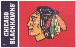 BLACKHAWKS DE CHICAGO -  DRAPEAU VERTICAL 36