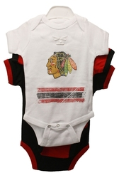 BLACKHAWKS DE CHICAGO -  ENSEMBLE DE 3 CACHE-COUCHES