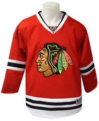 BLACKHAWKS DE CHICAGO -  RÉPLIQUE CHANDAIL ROUGE (ENFANT)