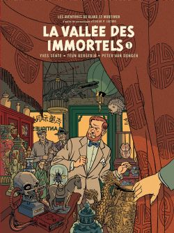 BLAKE ET MORTIMER -  LA VALLÉE DES IMMORTELS ; TOME 01, MENACE SUR HONG KONG - EDITIONS BIBLIOPHILE TIRAGE NUMÉROTÉ AVEC HORS-TEXTES INÉDITS ET 1 EX-LIBRIS 25