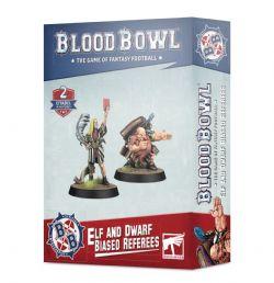 BLOOD BOWL -  ARBITRES PARTIAUX ELFE ET NAIN