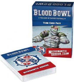 BLOOD BOWL -  CARTES (ANGLAIS) -  NECROMANTIC HORROR TEAM