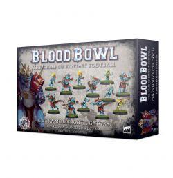 BLOOD BOWL -  GWAKA'MOLI CRATER GATORS - LIZARDMEN BLOOD BOWL TEAM
